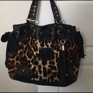 Juicy Couture Daydreamer Leopard Purse